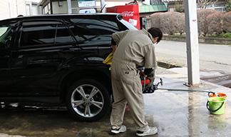 車内清掃・洗車 無料